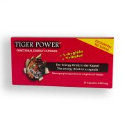 Tiger Power Energy Drink in der Kapsel